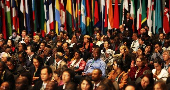 Encerramento da III Conferência Global sobre Trabalho Infantil, realizada em Brasília: 154 países presentes, reunindo mais de 1.300 pessoas. Foto: Divulgação/OIT